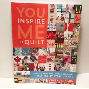 NWT You inspire me to quilt book